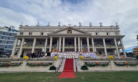 Kỷ niệm 50 năm thành lập - phát triển Học viện Don Bosco Đà Lạt