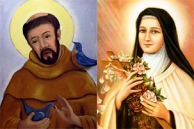 Phanxicô Assisi và Teresa Lisieux: hai hồn thơ thánh hóa