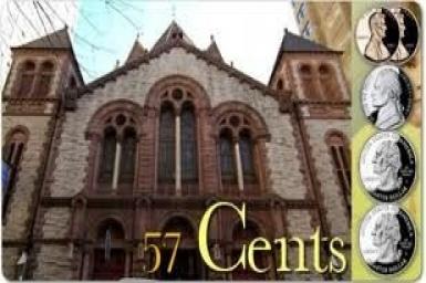 Xây nhà thờ với 57 xu
