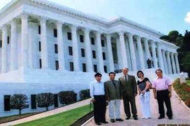 Phái đoàn Chính phủ Việt Nam thăm Trung tâm Baha`i Thế giới