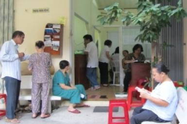 Phòng khám-liên tôn chăm sóc sức khỏe cho người nghèo