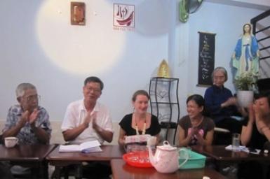 Cuộc gặp gỡ tân niên của Ban MV Đối thoại liên tôn
