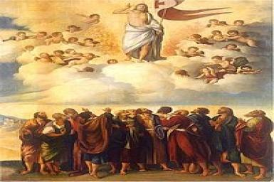 Chúa về trời – con vào đời