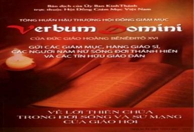 Lời Thiên Chúa và Đối thoại Liên tôn (Verbum Domini 117-120)