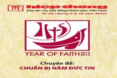 Bản tin Hiệp Thông 72: Chuẩn bị Năm Đức Tin