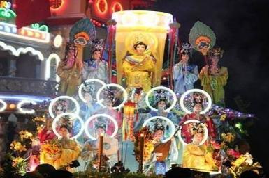 Đại lễ Hội Yến Diêu Trì Cung năm Quý Tỵ (2013) tại Tòa Thánh Tây Ninh