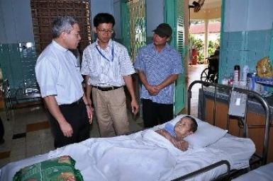 Cầu nguyện cho bệnh nhân