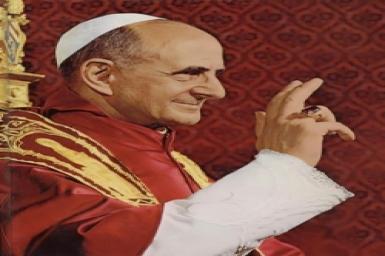 Năm Đức tin của Đức Thánh Cha Phaolô VI