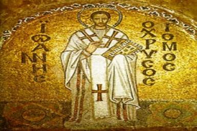 Thánh Gioan Kim Khẩu, Giám Mục, Tiến Sĩ Hội Thánh (Kính ngày 13/9)