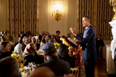Tổng thống Hoa Kỳ chủ tọa buổi tiệc Iftar kết tháng Ramađan