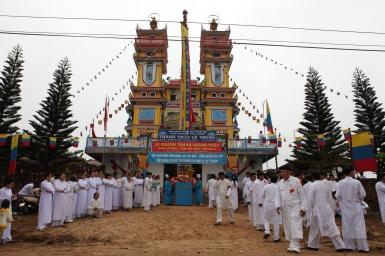 Gia Lai: Lễ khánh thành Thánh thất Họ đạo Lệ Trung Tp. Pleiku