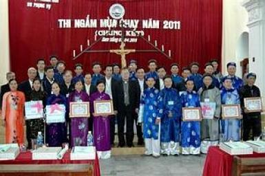 Phong tục Ngắm và thi Ngắm tại Việt Nam