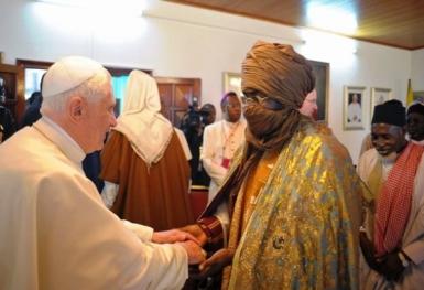 Đức Giáo Hoàng Bênêđictô XVI gặp gỡ người Islam tại Phi Châu