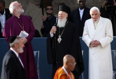 Diễn văn của ĐGH Bênêđictô XVI tại Assisi Ngày cầu nguyện cho Hòa bình 27.10.201