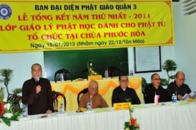 Tổng kết lớp giáo lý dành cho Phật tử