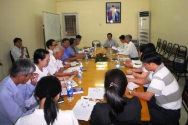 Ban MV Đối thoại Liên tôn: Suy tư và đối thoại tháng 7/2012