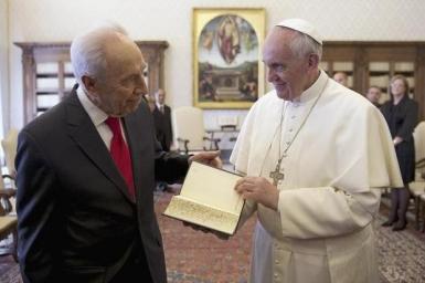 Tổng thống Israel viếng thăm Tòa Thánh Vatican