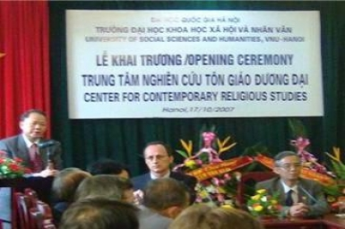 Thành lập hai Trung tâm nghiên cứu tôn giáo tại Hà Nội và Sài Gòn