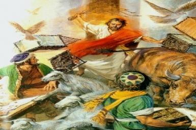 Đền thờ Thiên Chúa: Tin Mừng CN III Mùa Chay bằng hình ảnh