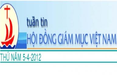 Tuần tin HĐGM Việt Nam, số 14-2012