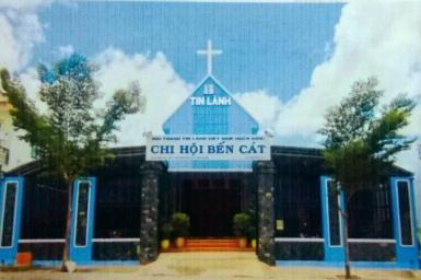 Bình Dương: Lễ cảm tạ Chúa và Cung hiến Nhà thờ Tin Lành Bến Cát